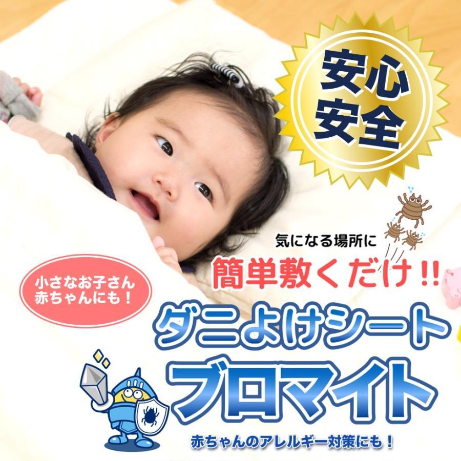 夏にかけてダニ急増 送料無料 収納棚 2020新作 新登場 新生児 ベビー布団にも アレルギー 日本製 ダニ対策190×98cm ダニ避けシート 通常タイプ ブロマイト 2枚入 防ダニ