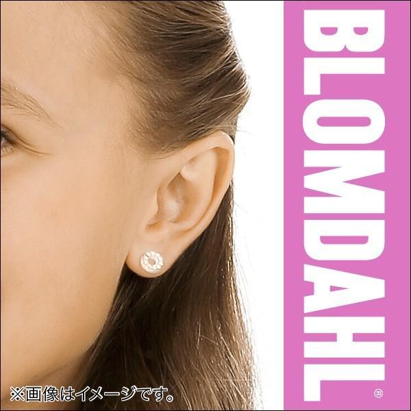 ピアス アレルギー対応 プラスチック ブリリアンスパック フォロー アクアマリン 8mm レディース 15-01191-05|blomdahljapan|03