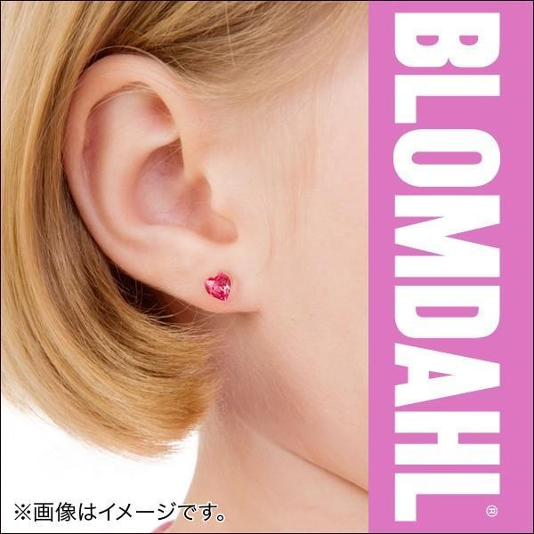 ピアス アレルギー対応 プラスチック ハート ローズ 6mm レディース 15-0121-03|blomdahljapan|05