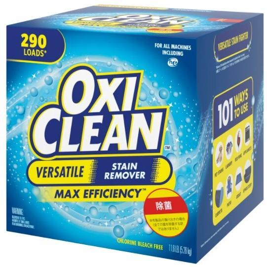 送料無料 アメリカ製 大容量 5.26kg 最新号掲載アイテム エコ オキシクリーン5.26 洗濯洗剤 漂白剤 マルチパーパスクリーナー 送料 シミ取り 一部対象外あり 高級