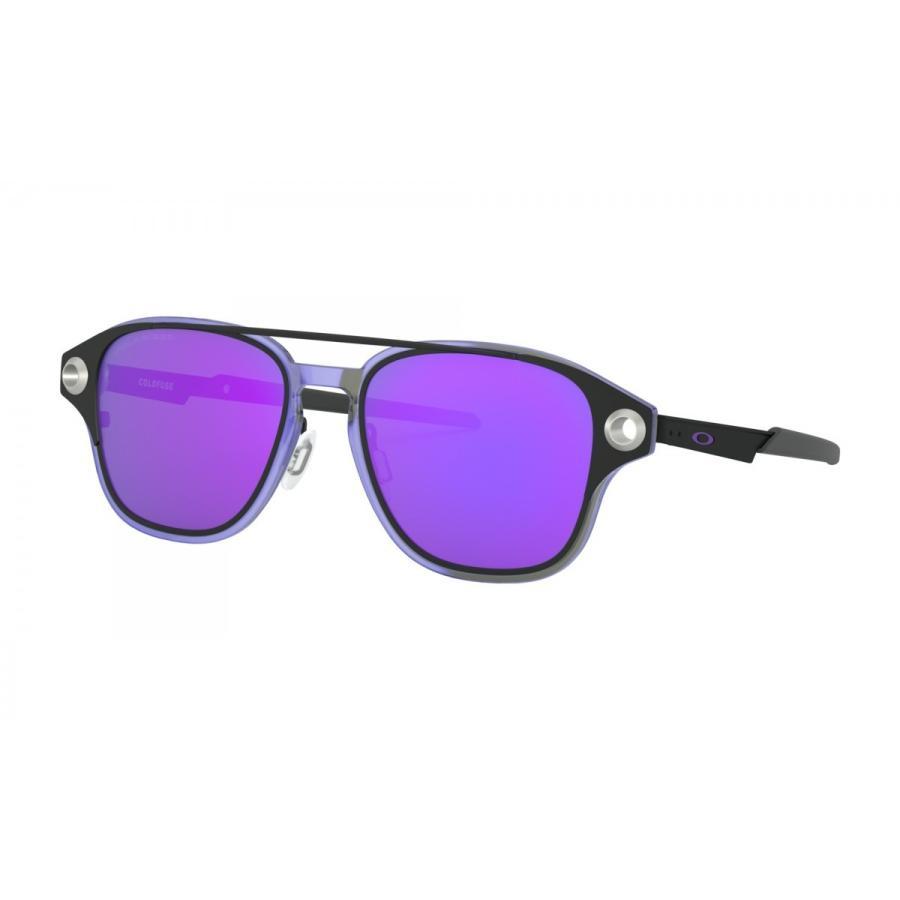 OAKLEY オークリー サングラス COLDFUSE コールドフューズ OO6042-0652 Matte 黒/Violet Iridium Polarized