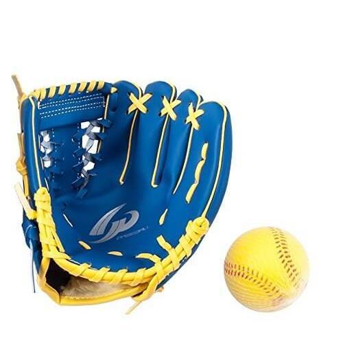 [GP] 野球 グローブ 幼児用 8インチ 右投げ 左投げ ボール付き キャッチボール blue-sports 03