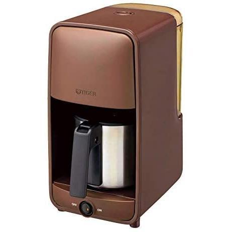 タイガー テイストマイスターでお好みの濃さに抽出。コーヒーメーカーステンレスサーバータイプ ADC-A060TD (ブラウン) bluebird-shoji