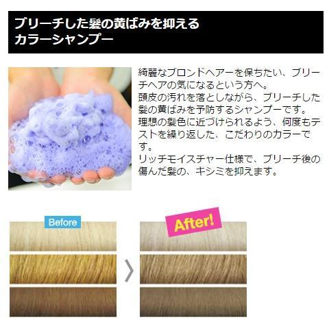 カラーシャンプー【ムラサキ】300mlブライセスロイド[シャンプー/ヘア ...
