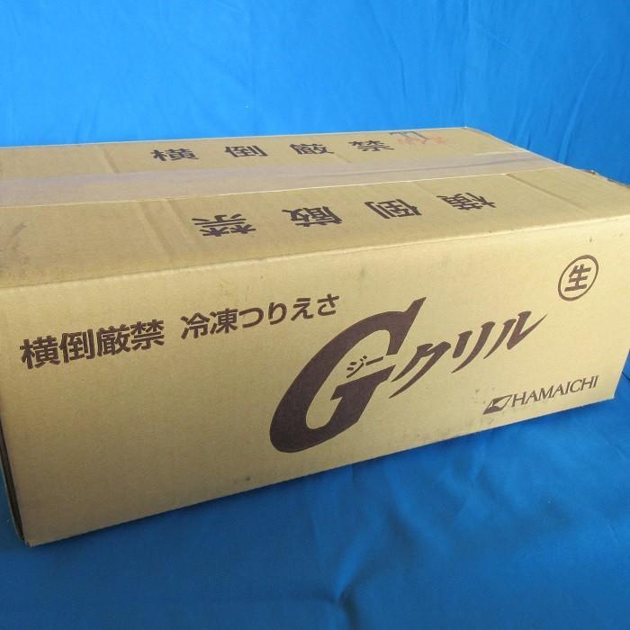 G甘エビ 1箱セット 1個当たり約420円 (約¥420/個) えさ 海老 えび サシエサ 海上釣堀 まとめ買い 箱買い 冷凍