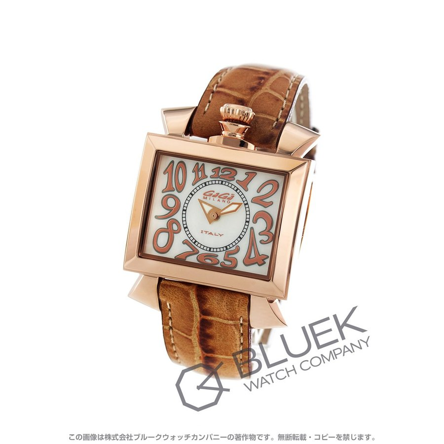 雑誌で紹介された ガガミラノ ナポレオーネ40MM 腕時計 ユニセックス GaGa MILANO 6031.2, 魚沼市 df62c6dc
