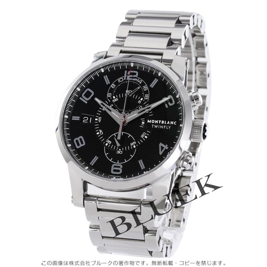 フジオカシ モンブラン タイムウォーカー ツインフライ モンブラン 104286 クロノグラフ ツインフライ 腕時計 メンズ MONTBLANC 104286, ヤスマチ:a45b4296 --- airmodconsu.dominiotemporario.com