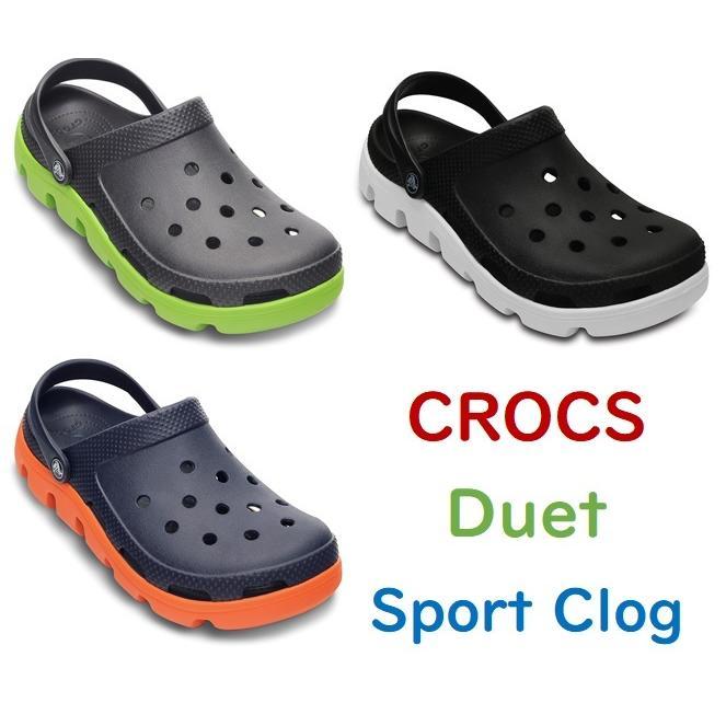 クロックス デュエット スポーツ クロッグ  #11991 Duet Sport Clog bluekuma