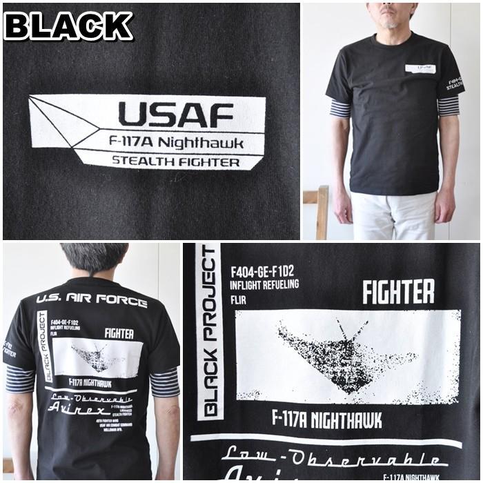 AVIREX  アビレックス  半袖Tシャツ  6103419 メンズ Tシャツ アメリカ空軍|blueline|05