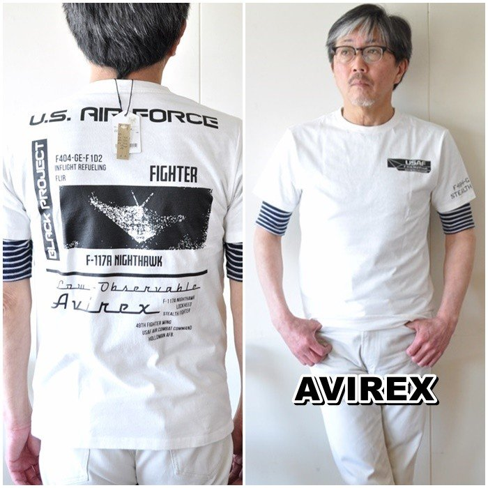 AVIREX  アビレックス  半袖Tシャツ  6103419 メンズ Tシャツ アメリカ空軍|blueline|06