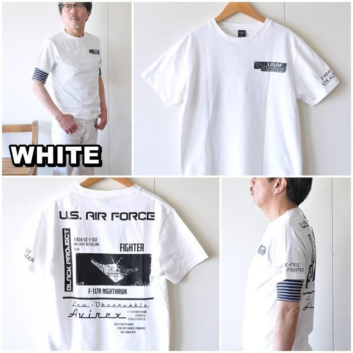 AVIREX  アビレックス  半袖Tシャツ  6103419 メンズ Tシャツ アメリカ空軍|blueline|08