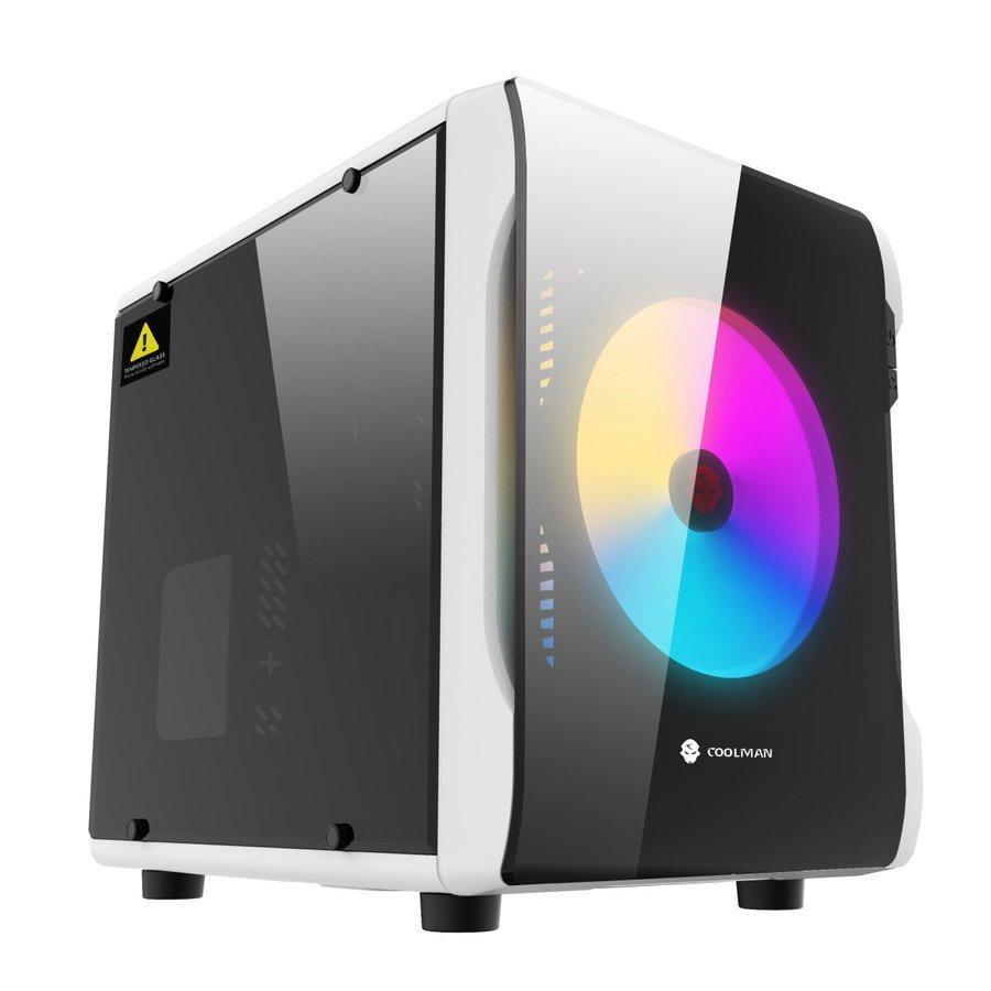 PCケース ice Micro-ATX キューブ型PCケース 捧呈 対応PCケース Mini-ITX 希望者のみラッピング無料