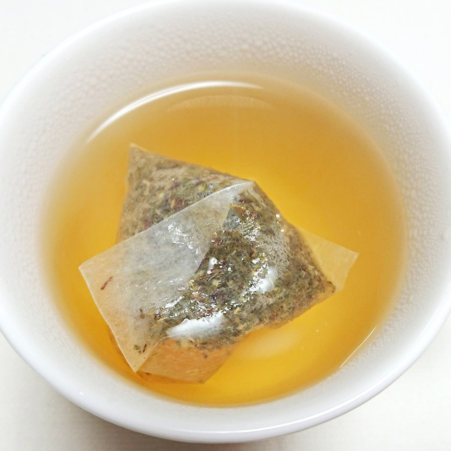 グリーンルイボスティー 51包 最高級茶葉JP16使用 テトラパック 入れっぱOK 有機栽培 ノンカフェイン 水出しOK bluemoon-herb 12