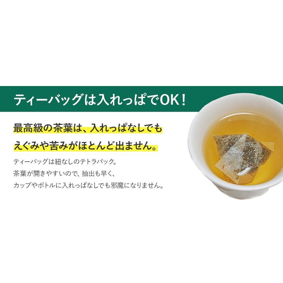 グリーンルイボスティー 51包 最高級茶葉JP16使用 テトラパック 入れっぱOK 有機栽培 ノンカフェイン 水出しOK bluemoon-herb 08