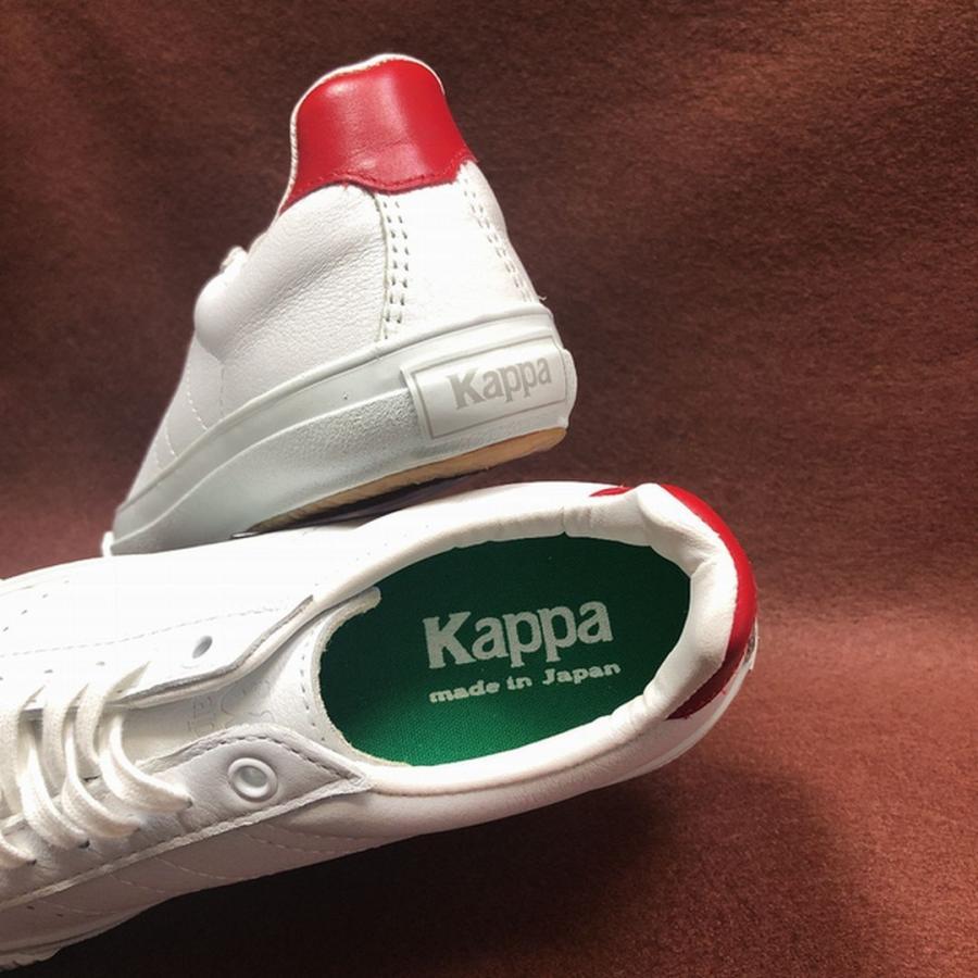 Kappa KP CS009 W/RED(日本製/サイズ少し大きめ)|blueocean1978|08