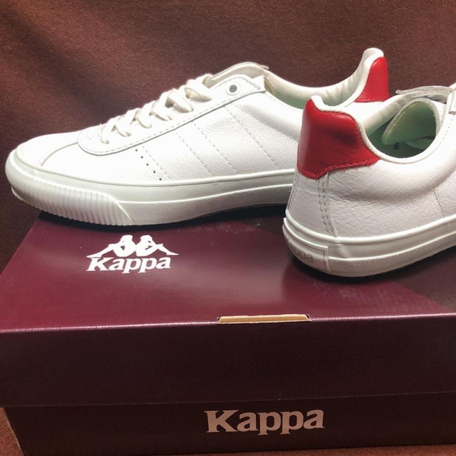 Kappa KP CS009 W/RED(日本製/サイズ少し大きめ)|blueocean1978|09