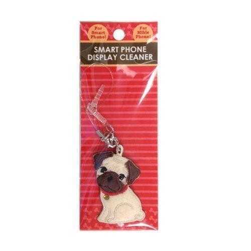 パグ ワッペンクリーナー 携帯ストラップ 携帯ピアス ペチャ犬 ワッペン 犬グッズ 犬雑貨 パグ雑貨|bluereef|02