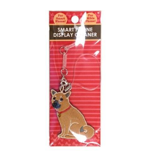 柴犬 ワッペンクリーナー 携帯ストラップ 携帯ピアス シバケン 犬 ワッペン 犬グッズ 犬雑貨|bluereef|02