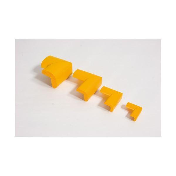 (業務用10セット) カーボーイ 安心クッションコーナー細 木目ライト4個組