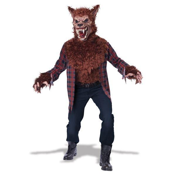 コスプレ衣装/コスチューム California Costumes BLOOD MOON-褐色 / ADULT 〔胸パーツ付シャツ・マスク〕