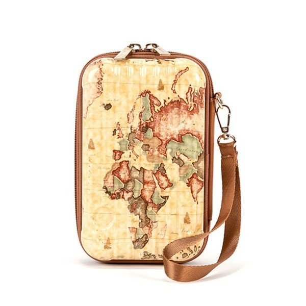 【史上最も激安】 PRIMA CLASSE(プリマクラッセ)PSH7-1006 PRIMA 中の物が壊れにくいスーツケース型ストラップ付ポーチ (ブラウン) (ブラウン), HOMES interior/gift:020525ff --- sonpurmela.online