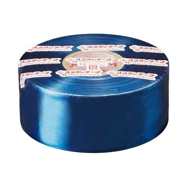 (まとめ)タキロンシーアイ スズランテープ 2248401019 470m ネイビー〔×50セット〕