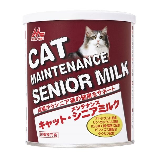 (まとめ)ワンラック キャットメンテナンスシニアミルク 280g (ペット用品·猫フード)〔×24セット〕