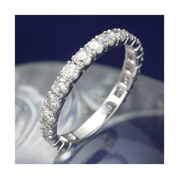新規購入 プラチナPt900 1.0ctダイヤリング 指輪 エタニティリング 21号, テクニカルサービス本多 5867adda