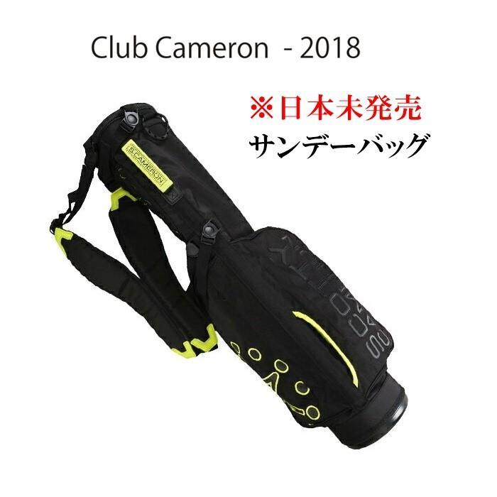 ☆送料無料 スコッティキャメロン ScottyCameron 【ダブルコンバーチブルストラップ サンデーバッグ】 6.5型