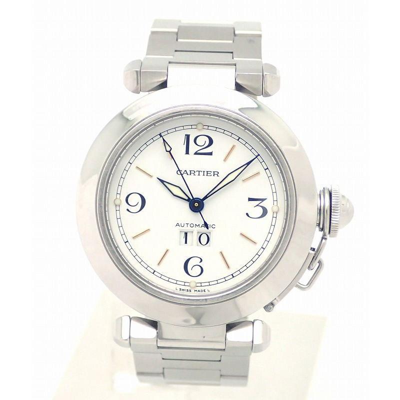 激安な (ウォッチ)Cartier カルティエ パシャC ビッグデイト ホワイト文字盤 35mm AT オートマ 腕時計 W31044M7 (k), 美の達人 b26f69e5