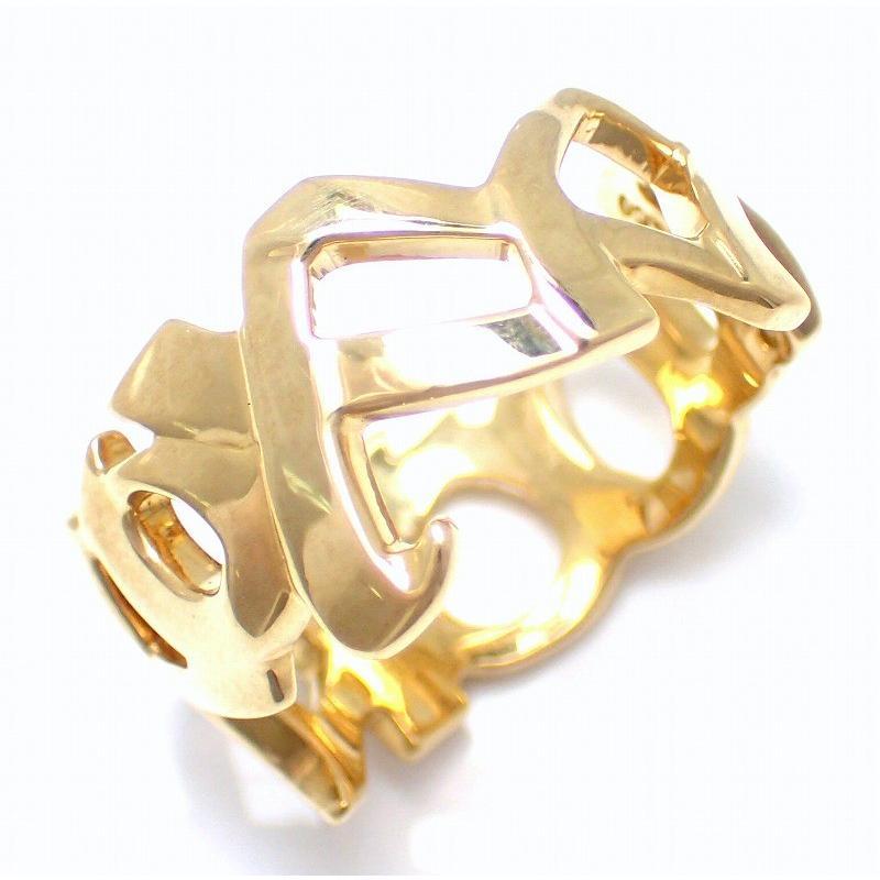 【信頼】 (ジュエリー)TIFFANY&Co. #9 ティファニー パロマピカソ 9号 750YG 9号 #9 ラブ&キス リング 指輪 K18 750YG イエローゴールド (u), オガチグン:3065e405 --- taxreliefcentral.com