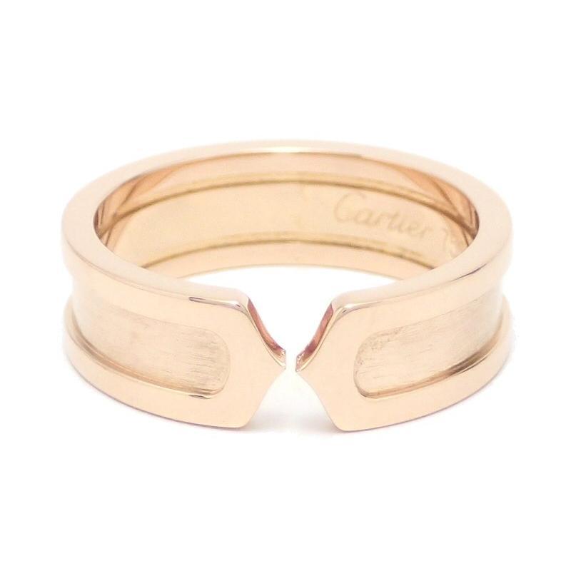 アンマーショップ (ジュエリー)Cartier カルティエ C2 リング SM ウエディングリング 指輪 K18PG 750PG ピンクゴールド #58(k), ロワジャパン2号店 9db6c53d