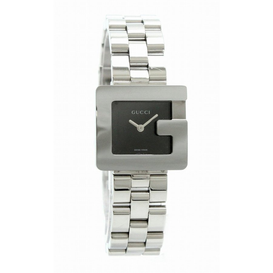 バーゲンで (ウォッチ)GUCCI グッチ Gモチーフ Gロゴ ブラック文字盤 レディース QZ クォーツ 腕時計 3600L (u), オオエチョウ fdc0b35d