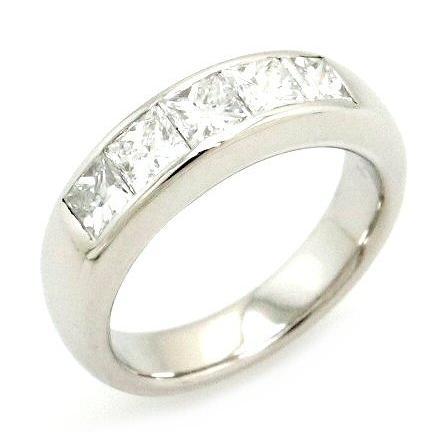 新作 プラチナ ファッションリング 指輪 ダイヤモンド ダイヤ プリンセスカット D1.50ct Pt900 プラチナ900 #11 11号 () (k), WILD PARTY d629c699