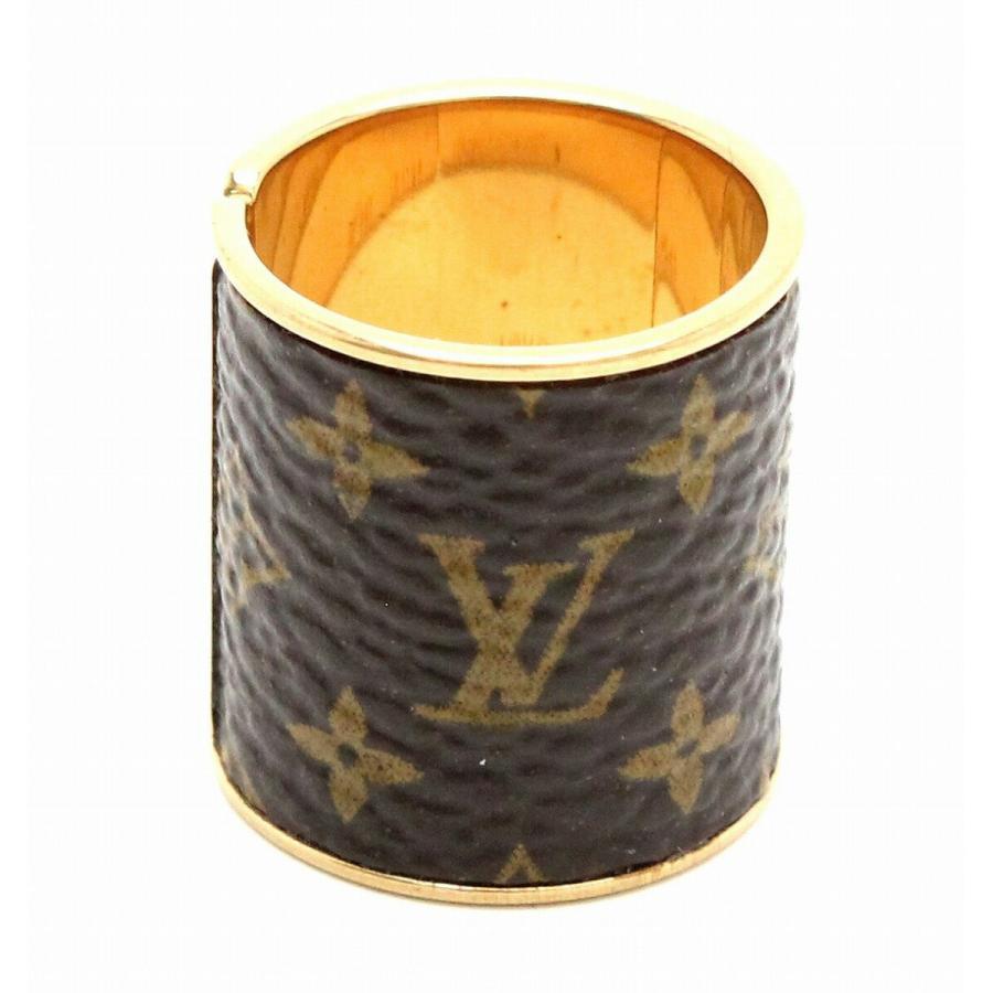 熱い販売 (ジュエリー)LOUIS VUITTON ルイ ヴィトン セットリング スキン モノグラム 指輪 Sサイズ #S ゴールドカラー MP1663 (k), 山武町 5a697aa2