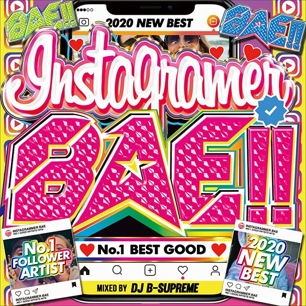 MIXCD -送料無料 INSTAGRAMMER BAE -NO.1 GOOD ARTISTS HITS- 洋楽 Mix CD MKDR-0078 メーカー直送 正規品|bmpstore