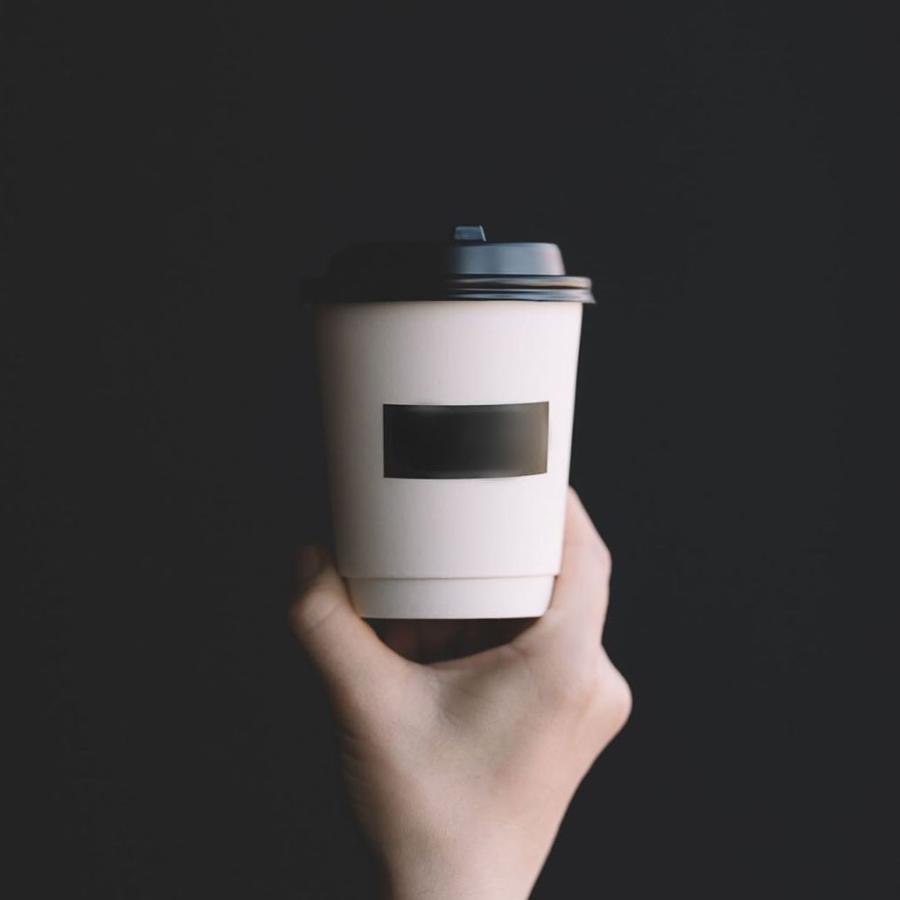 テイクアウト 紙コップ 90mm口径ホット用  紙カップ 黒蓋 2000枚|bmt-store|12