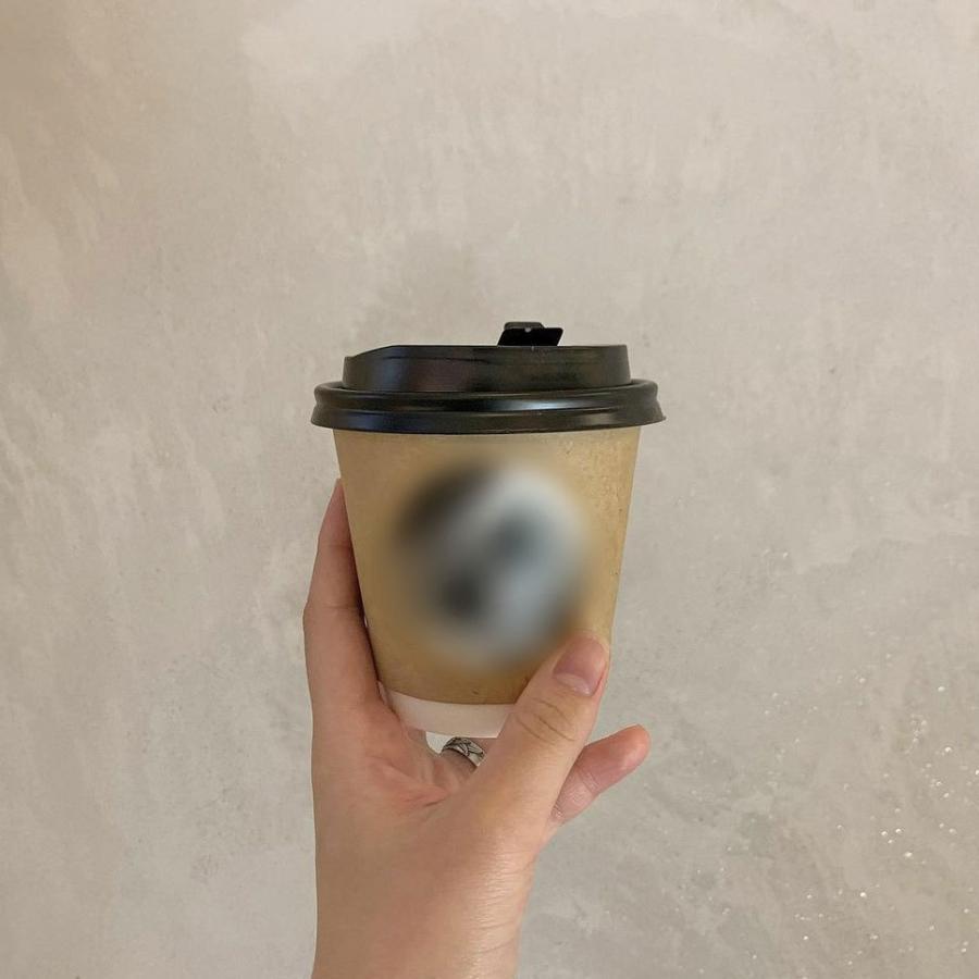 テイクアウト 紙コップ 蓋 フタ付き おしゃれ 断熱クラフト2重9オンス 紙カップ &ホット用黒蓋 100個セット EC15|bmt-store|21