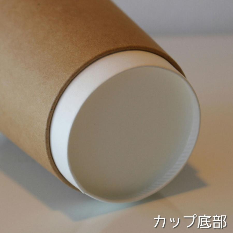 テイクアウト 紙コップ 蓋 フタ付き おしゃれ 断熱クラフト2重9オンス 紙カップ &ホット用黒蓋 100個セット EC15|bmt-store|07