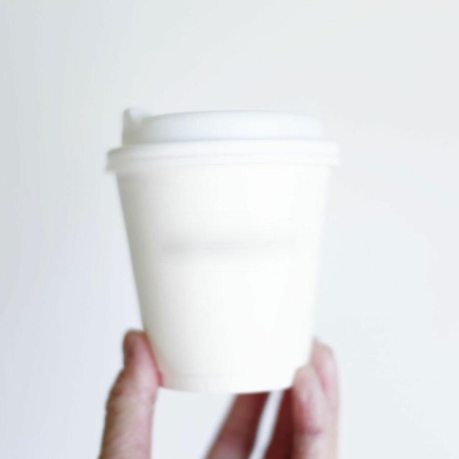 テイクアウト お持ち帰り 紙コップ 紙カップ ノーストロー蓋 90mm口径用 ホワイト 1000枚|bmt-store|16