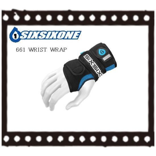 自転車 BMX リストラップ SIXSIXONE  661 WRIST WRAP ブラック|bmx-source