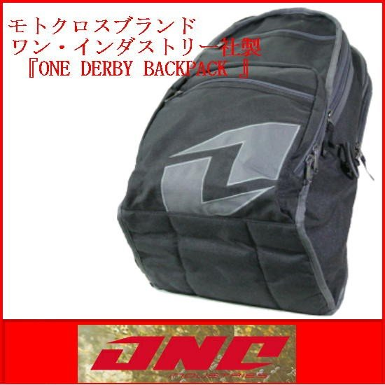 カバン BACKPACK ONE DERBY BACKPACK  BLACK|bmx-source