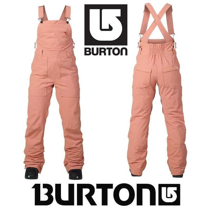 18 BURTON バートン ウェア AVALON BIB PANT DUSTY ROSE WASHED