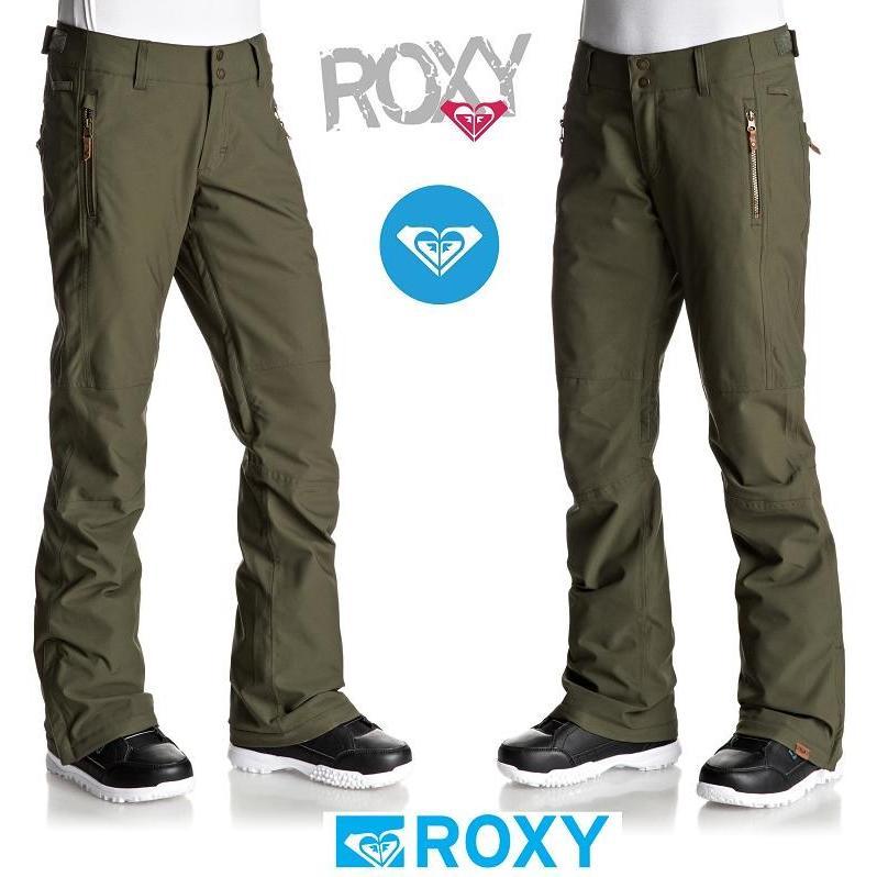 2018 ROXY ロキシー CABIN PANT スノーボードウェア DUST IVY