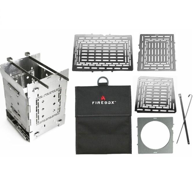 FIREBOX ファイヤーボックス G2 ストーブ本体 + アクセサリー コンプリート キット バーベキューコンロ 焚火台 ストーブ