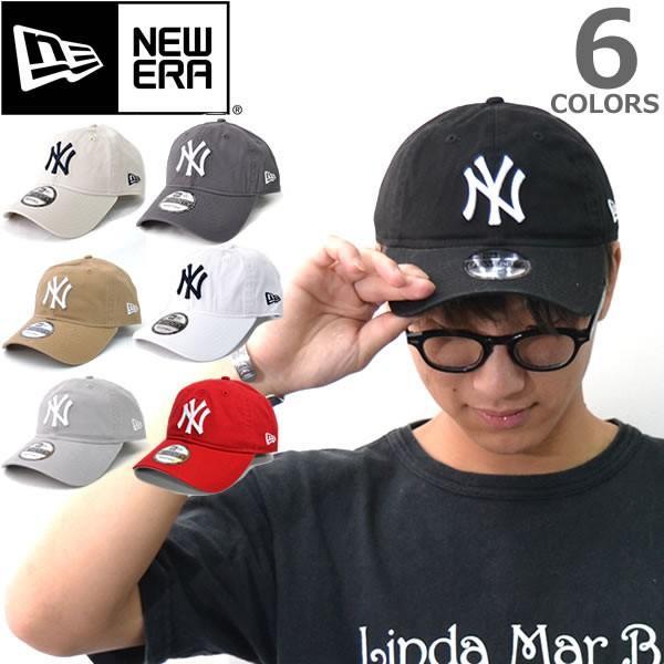 NEW ERAニューエラ 9TWENTY 920 ニューヨーク・ヤンキース キャップ 帽子 定番 ウォッシュ メンズ レディース サイズ調節可能【ネコポスのみ送料無料】|bobsstore