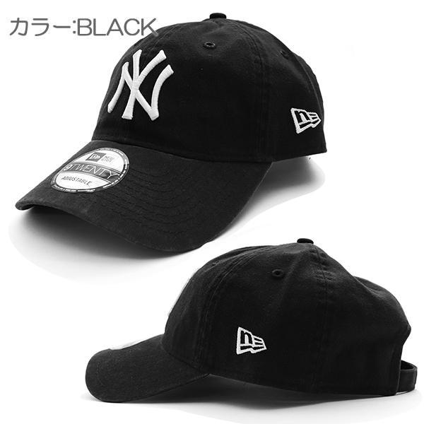 NEW ERAニューエラ 9TWENTY 920 ニューヨーク・ヤンキース キャップ 帽子 定番 ウォッシュ メンズ レディース サイズ調節可能【ネコポスのみ送料無料】|bobsstore|02