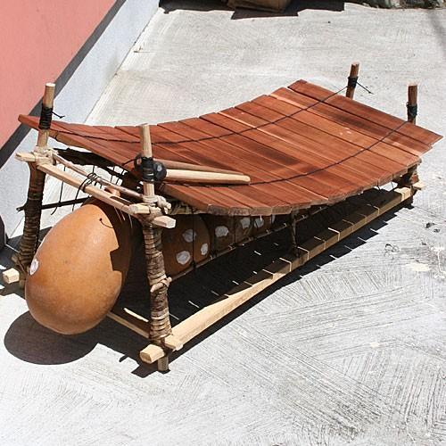 アフリカ ガーナ 民族楽器  コギリ (木琴,バラフォン,マリンバ,瓢箪)