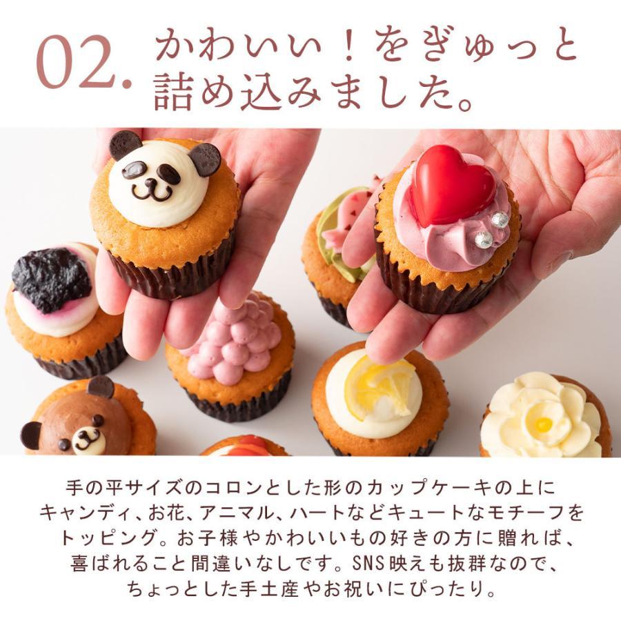 カップケーキ プチフルール12個セット 送料無料  スイーツ お取り寄せ ギフト 人気 土産 ケーキ パーティー かわいい 誕生日|bokunotamatebakoya|11