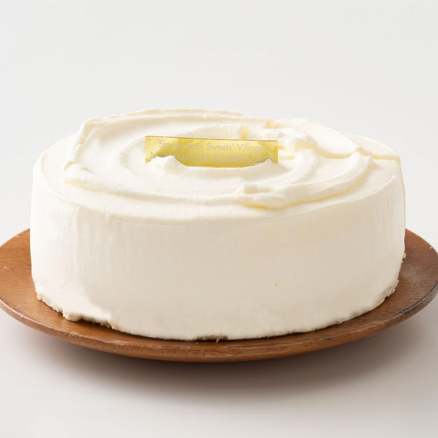 レアチーズ ケーキ (5号) 生ケーキ 手作り 誕生日 バースデーケーキ 誕生日ケーキ お祝い 結婚記念日 結婚祝い お礼 お返し 卒業 入学 贈り物|bokunotamatebakoya|05